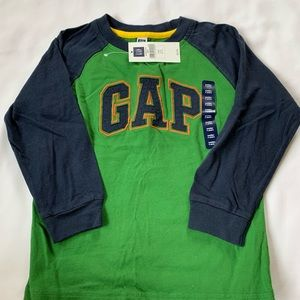 Baby gap long sleeve logo t-shirt
